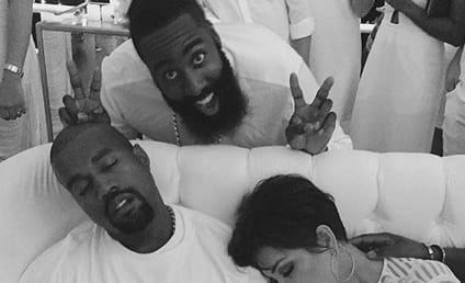 James Harden Parties with the Kardashians: See the Photos!