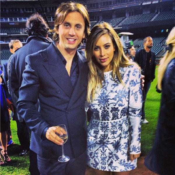 Kim Kardashian and Jonathan Cheban Photo
