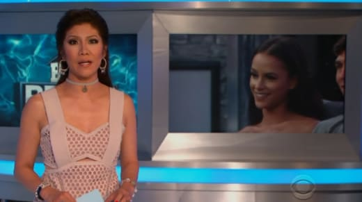 Julie Chen Reveals a Twist