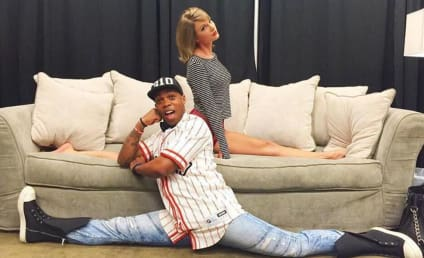 Taylor Swift Shows Off Flexibility, New Squad Member