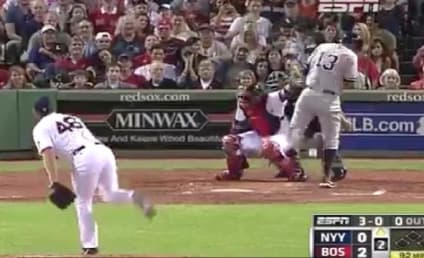 Alex Rodriguez Hit By Pitch in Boston, Fenway Crowd Goes Wild, Bedlam Ensues