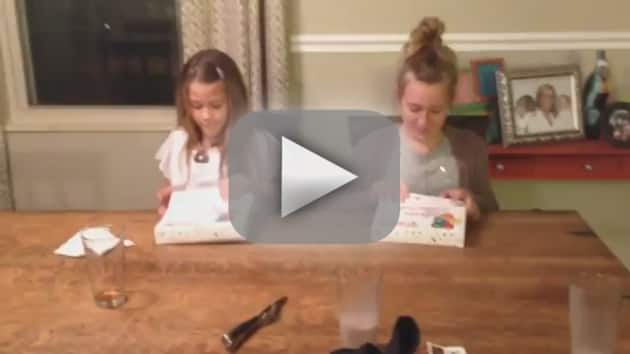 Sisters React in Best Way Ever to Mom's Pregnancy Annoucement