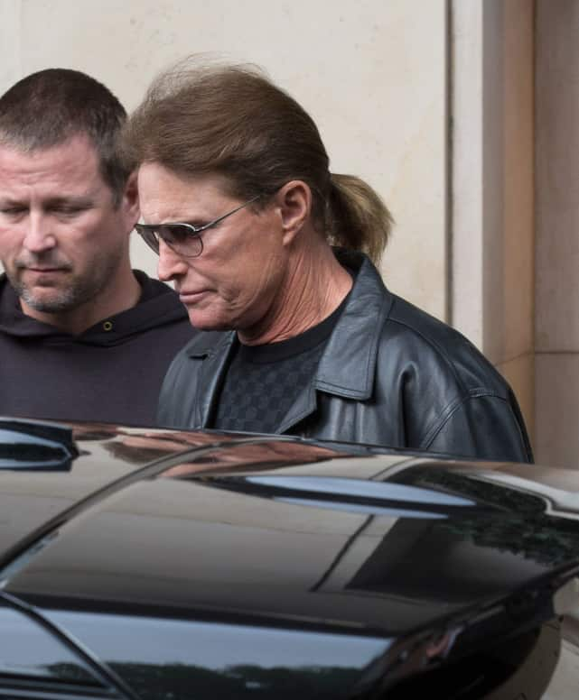 Bruce Jenner with a Ponytail