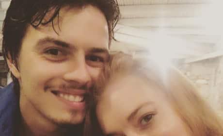 Egor Tarabasov and Lindsay Lohan Photo