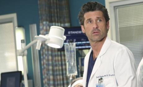 Patrick Dempsey on Grey's