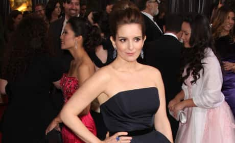 Tina Fey at the Oscars