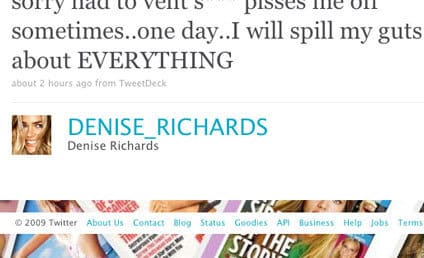 Denise Richards Threatens to Expose EVERYTHING About Charlie Sheen