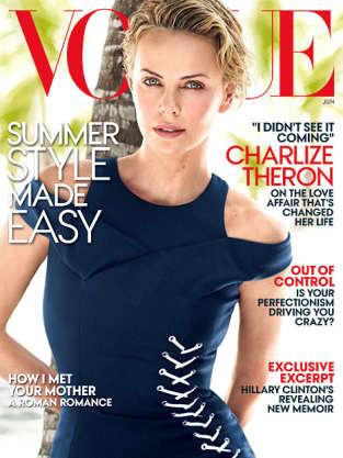 Charlize Theron Vogue Photo