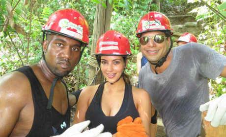 Joe Francis, Kim Kardashian, Kanye West