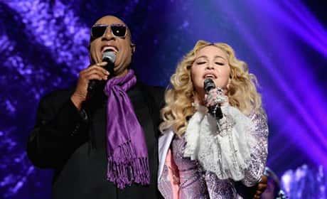 Madonna and Stevie Wonder Honor Prince at Billboard Music Awards