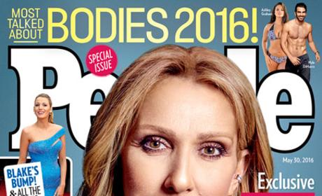 Celine Dion People Magazine Photo