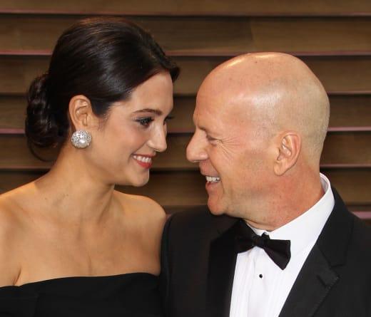 Emma Heming-Willis and Bruce Willis