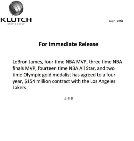 lbj statement