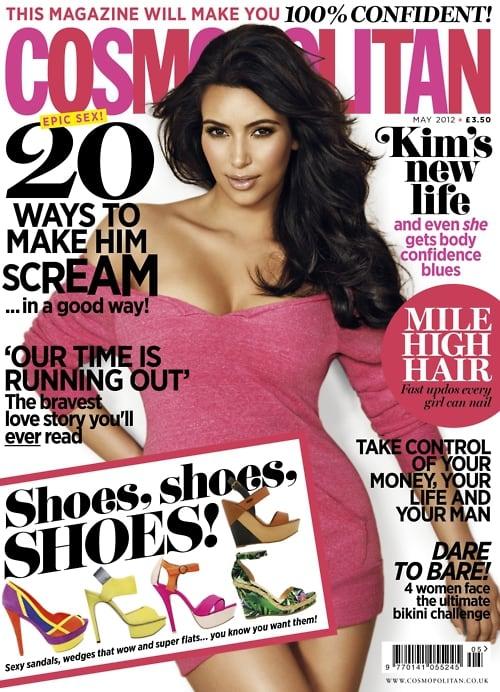 Kim Kardashian Cosmo UK Cover