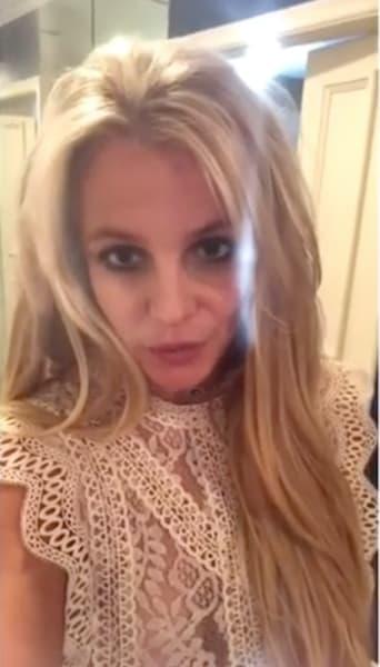 Britney Spears on Insta