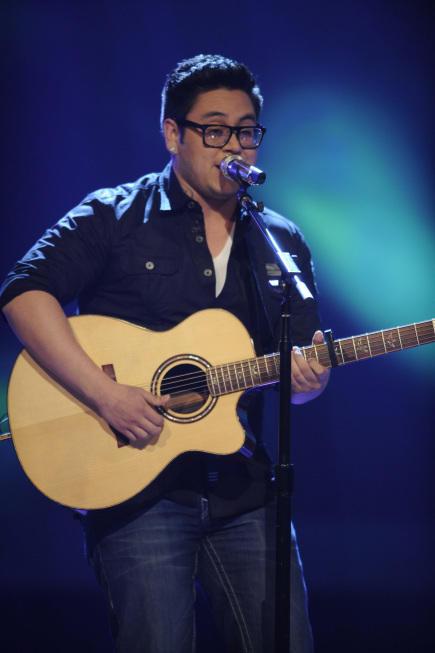 Andrew Garcia on Idol