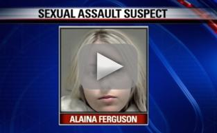 Alaina Ferguson, Texas Teacher, Arrested For Having Sex on Park Bench with Student She Met on Snapchat
