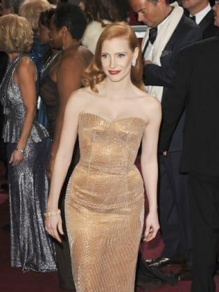 Jessica Chastain Oscars Dress