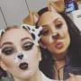 Chloe Lukasiak and Cheryl Burke