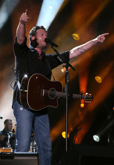 Blake Shelton on Stage