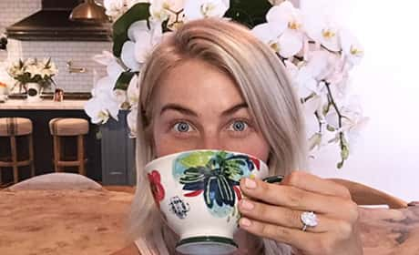 Julianne Hough Engagement Ring Photo