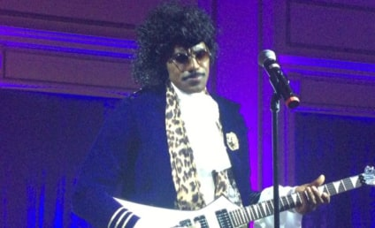 "LeBron James Dresses as Prince, Sings ""Purple Rain"""