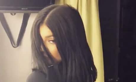 Kylie Jenner with a Bob