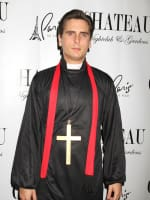Scott Disick as a Priest