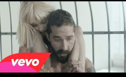 Maddie Ziegler and Shia LeBeouf Dance, Writhe Around in Cage For Sia Music Video