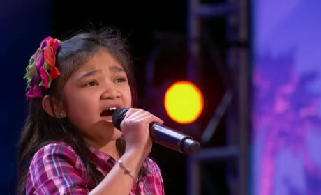 Girl Shocks Judges With Amazing Vocals on America's Got Talent