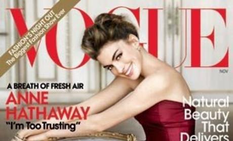 New Anne Hathaway Vogue Cover