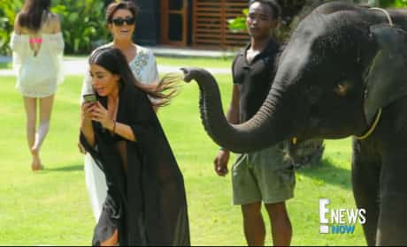 Kim Kardashian Gets Attacked