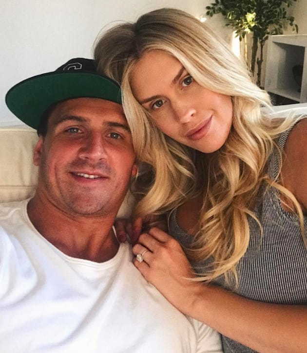 Ryan lochte and kayla rae reid the hollywood gossip ryan lochte and kayla rae reid voltagebd Choice Image
