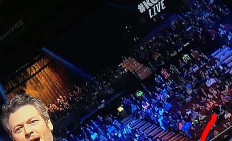 Blake Shelton at Kids' Choice Awards