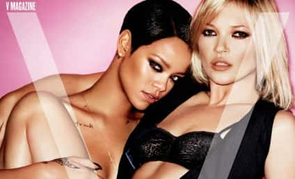 Rihanna: Nude With Kate Moss in V Magazine!