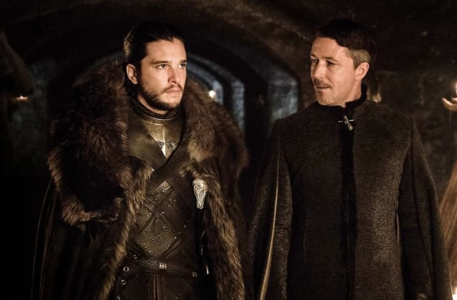 Jon Snow and Littlefinger Converse