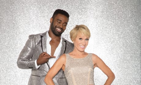 Barbara Corcoran with Keo Motsepe