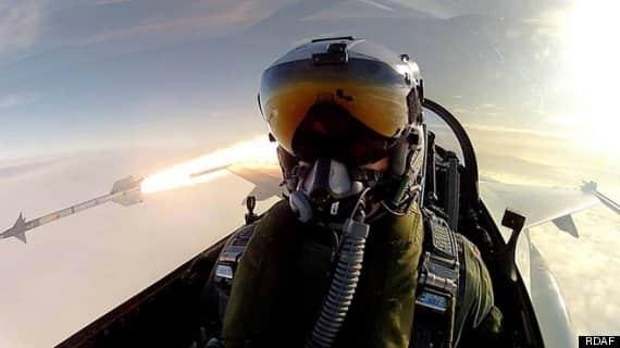 Fighter Pilot Selfie