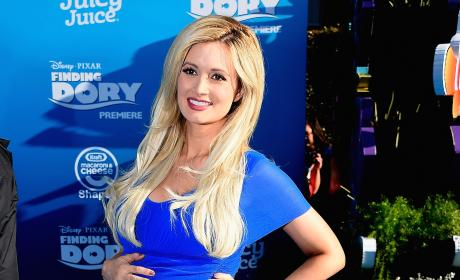 Holly Madison in Blue