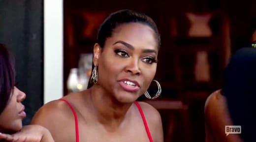 Kenya Moore is Angry