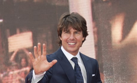 Tom Cruise Red Carpet Pic