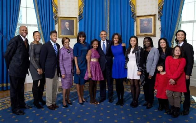 Obama Family Photo 2013