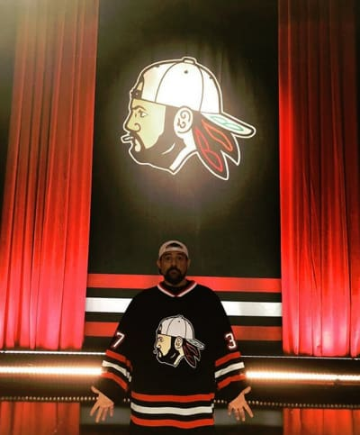 Kevin Smith Before the Show
