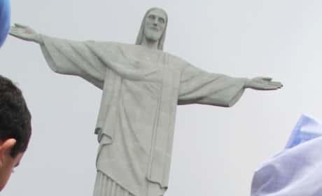 Kim Kardashian Jesus Pic