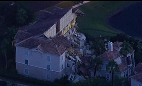 Sinkhole in Florida: Report