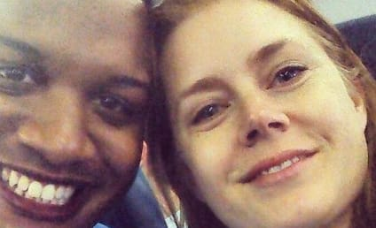 Amy Adams Hands Over First Class Airline Seat to Soldier