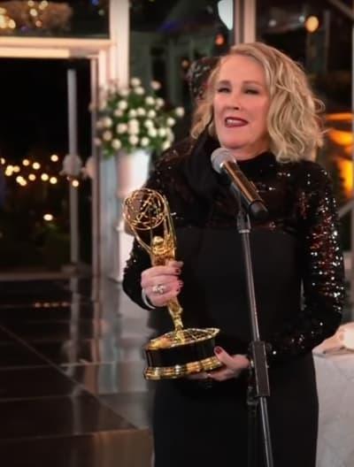 El hito de Catherine O'Hara en un Emmy