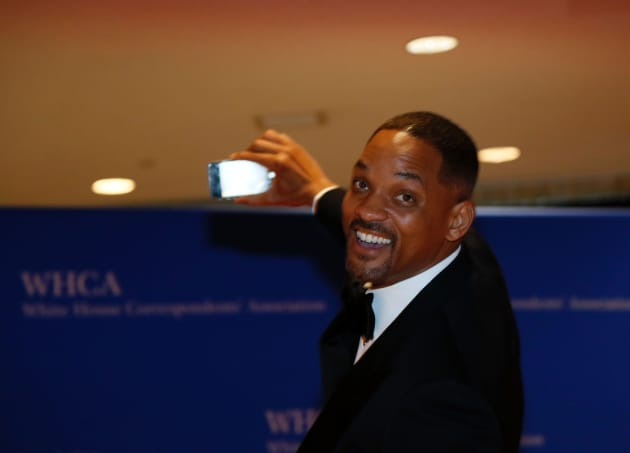 Will Smith at 2016 White House Correspondents Dinner