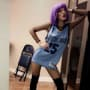 Bella Thorne in Chandler Parsons Jersey