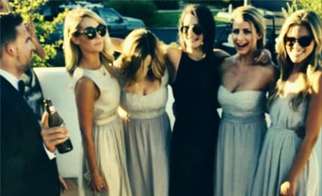 Lauren Conrad as a Bridesmaid